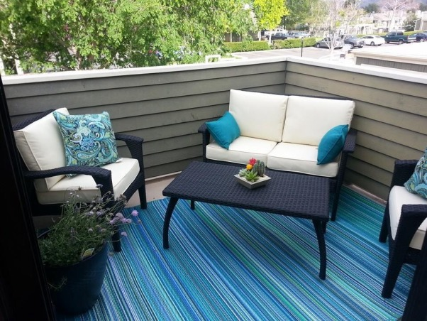 Townhouse Backyard Decks : Townhouse patio, Have this square 10 x10 patio I added some color, is
