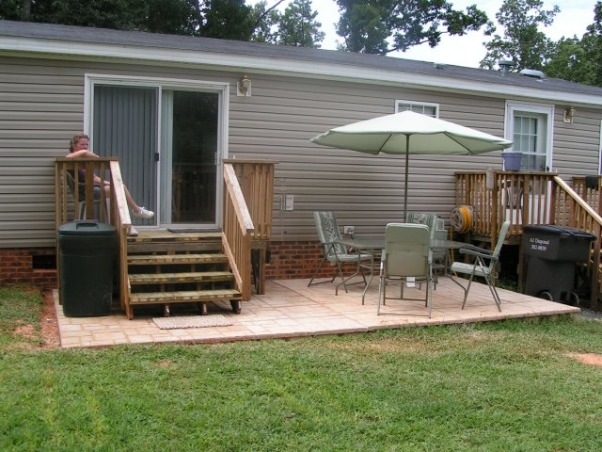 301 moved permanently for 200 sq ft deck