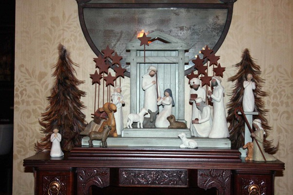Holiday Home Tour in TN, Our home was featured in our neighborhood Holiday Home Tour, check out stop #1 and the favorite of all!, I just love this Nativity!, Holidays Design