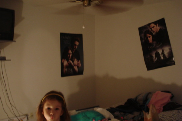 Twilight Themed Bedroom, Teen Girl Room, Before  , Girls' Rooms Design