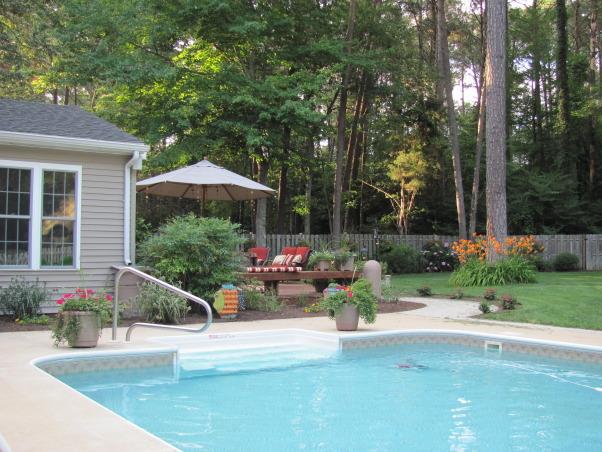 Backyard Getaways Photos : Backyard Getaway, Pool and deck area updated , Yards Design