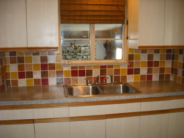 faux finish tiles, backsplash, Kitchens Design
