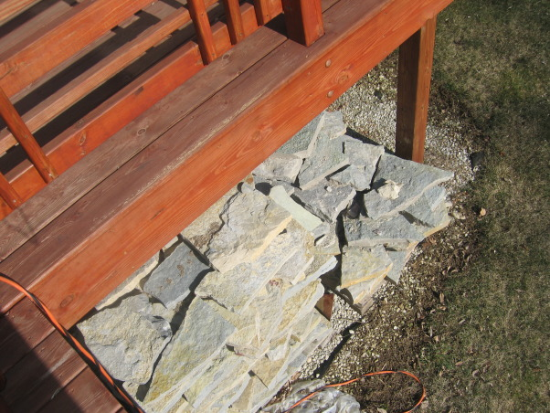 I need help from Yard Crashers, My husband I I built our home in 2005 - and have not completed the yard projects yet - I have recently lost my job and with that said the money is gone  , 2 skids of flag stone needed to make walkway from front to backyard., Yards Design