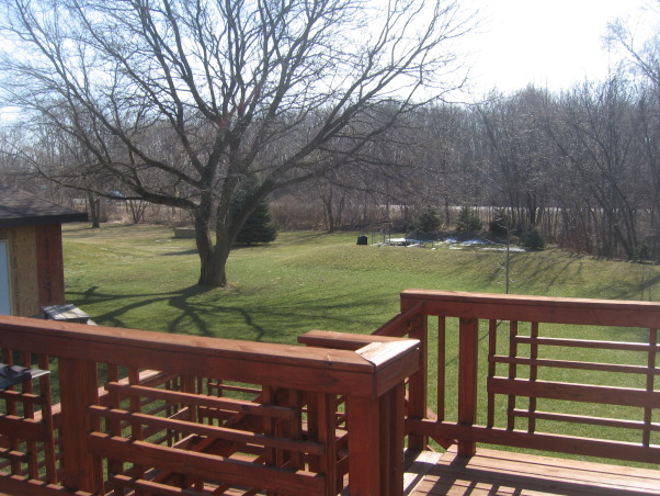 I need help from Yard Crashers, My husband I I built our home in 2005 - and have not completed the yard projects yet - I have recently lost my job and with that said the money is gone  , beautiful deck my husband built with friends and family, Yards Design