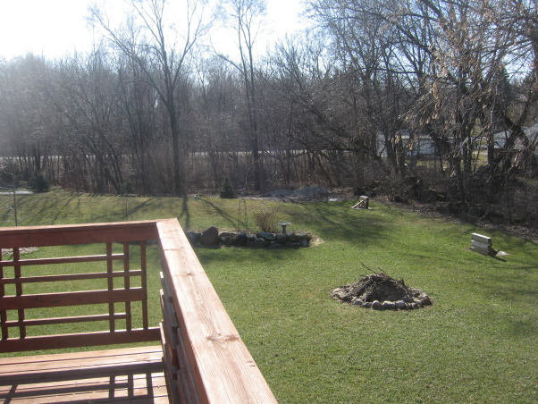 I need help from Yard Crashers, My husband I I built our home in 2005 - and have not completed the yard projects yet - I have recently lost my job and with that said the money is gone  , over looking the yeard off the deck, Yards Design