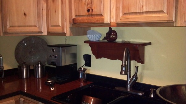 Copper Penny Back Splash, The double sided sticky stuff I bought was call Bondera and it comes in 12' x10' rolls, I bought it at Lowe's.  , Kitchens Design