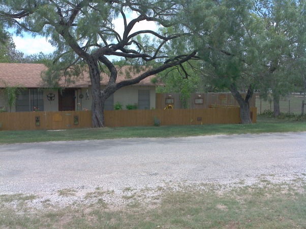 Fence With Windows, Fence with windows and working shutters to allow more or less wind flow.  I had planned to post the before pic but it is gone. We did build the fence to as it did not have one., Here is the whole fence together. I can't get it all in one pic.  , Yards     Design