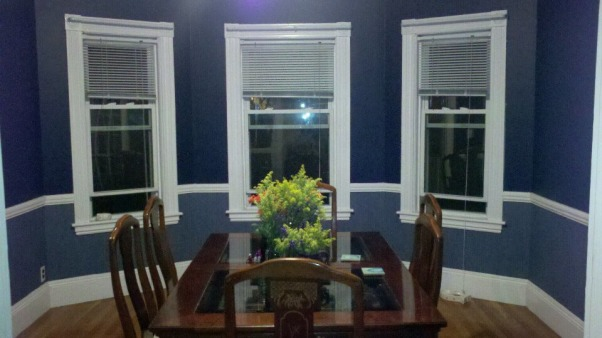 Deep Hues of Blue, AFTER, Dining Rooms Design