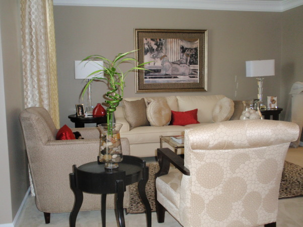 Simple elegance, A contempary room with a traditional twist., Living Rooms Design
