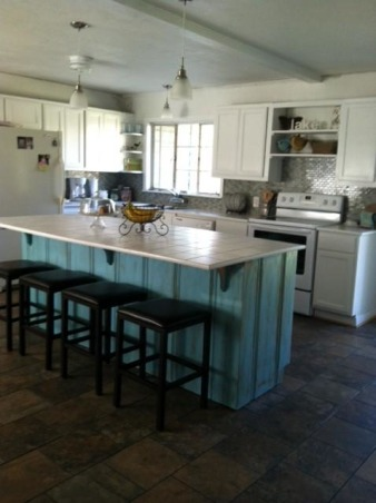 Dark Knotty pine to Bright white, We remodeled our 60's kitchen on our own. We took down walls and replaced just about everything., Kitchens Design
