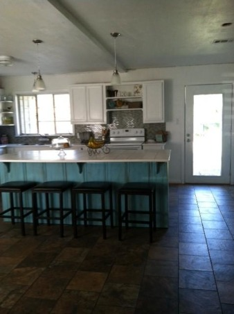 Dark Knotty pine to Bright white, We remodeled our 60's kitchen on our own. We took down walls and replaced just about everything., Now its bright and happy!, Kitchens Design