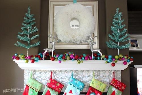 DIY Holiday Wreath, DIY Holiday wreath made from coffee filters, DIY Holiday Wreath, Holidays Design