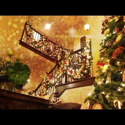 My Christmas Decorations 2012, My favorite part of the house to decorate during the holidays!  , Living Rooms Design