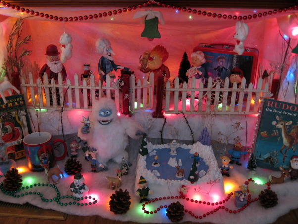Christmas Decorations, One of my cartoon character displays., Holidays Design