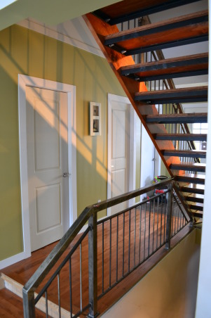 Entrance/ Staircase , Home built stairs and rail, Other Spaces Design