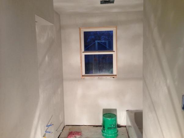 First Bathroom DIY, Drywall up, Bathrooms Design