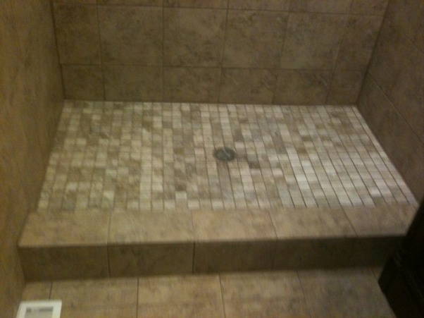 1953 SMALL BATHROOM REMODELED (2013), COMPLETED GUT JOB, 6' x 3' SHOWER   , Bathrooms Design