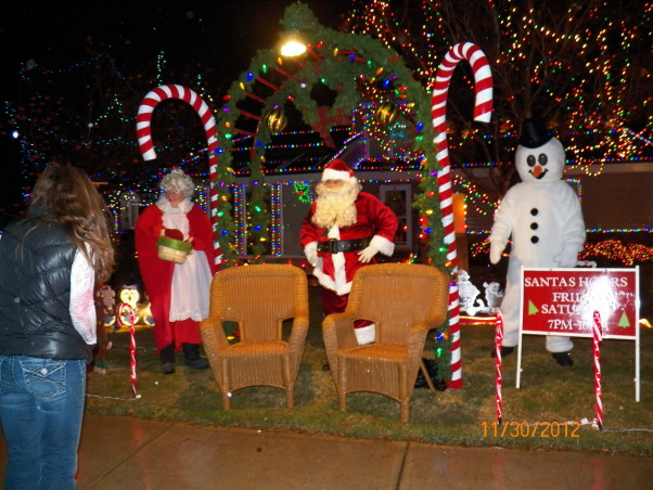 Crazy Christmas Yard, Our front yard at Christmas. Every Friday and Saturday we go out and spread Christmas cheer., Holidays Design