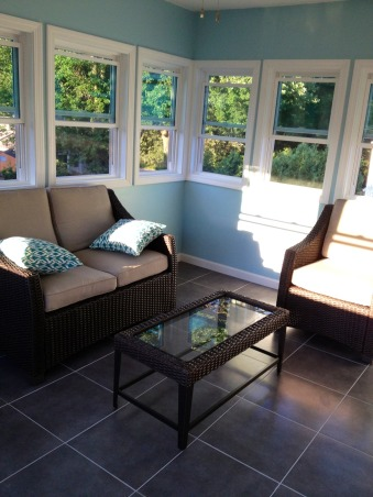 From unusable space to Sun Room, We had an unusable porch that was run down and an eye sore. We recently renovated this space into three seasons sun room. , Three seasons room, Porches Design