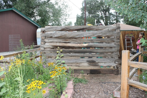 My little log shop, This little log chicken coop (estimated circa 1930s) was slated for destruction until my husband and I disassembled it brought it home and gave it new life as my shop!, No roof yet, but coming soon!, Other Spaces Design