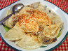 Pierogies With Creamy Mushroom and Sherry Sauce
