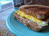 Simple Fried Egg Sandwich