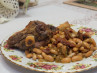 Lamb Shanks W/ White Beans & Sun-Dried Tomatoes