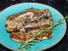 Grill Pork  With Rosemary and Lavender