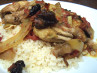 Chicken Tagine With Plums and Spices