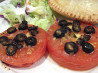 Broiled Tomatoes With Olives and Garlic