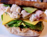 Chicken Salad and Avocado Sandwich