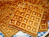 Nutty Honey Oatmeal Waffles