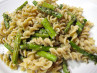 Roasted Asparagus Pasta With Garlic Butter