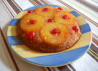 Pineapple Upside-Down Cake in Iron Skillet
