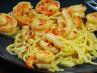 Pasta With Shrimp in Garlic Sauce(Fideos Con Gambas)