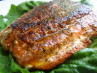 Slammin Blackened Salmon