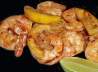 Grilled King Prawns With Lemon, Garlic And Chilli