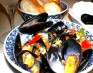 Mussels with Chili, Garlic and Basil