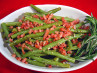 Prosciutto/Garlic Green Beans