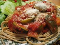 Vegetarian Crock Pot Spaghetti Sauce