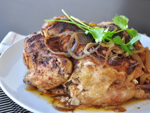 Recipe with whole chicken