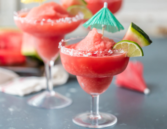 watermelon, margarita, alcohol, drinks, cocktails, drink ideas, food.com, frozen drinks