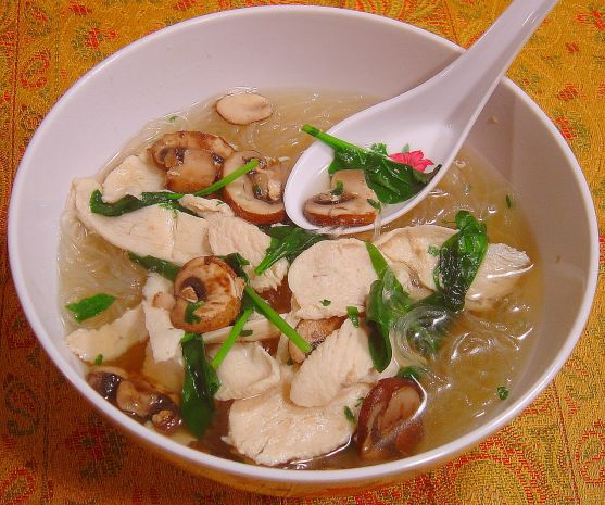 Thai chicken soup recipes easy
