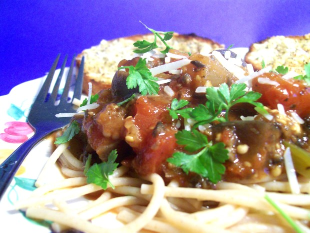 Recipes eggplant pasta sauce