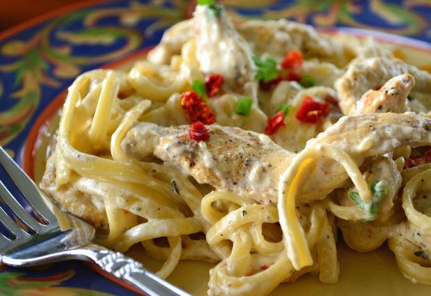 Creamy chicken pasta recipes for dinner