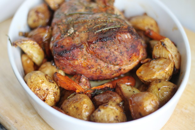 Boneless pork loin end roast recipes