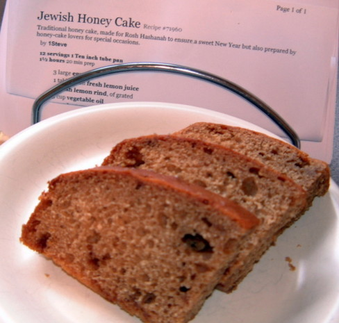 Gluten Free Rosh Hashana Honey Cake Recipes