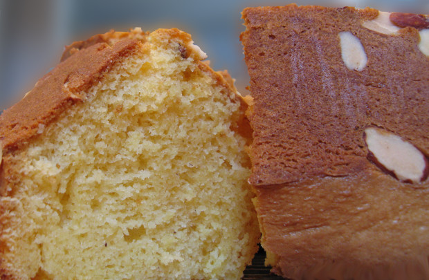 Recipe for eggnog pound cake