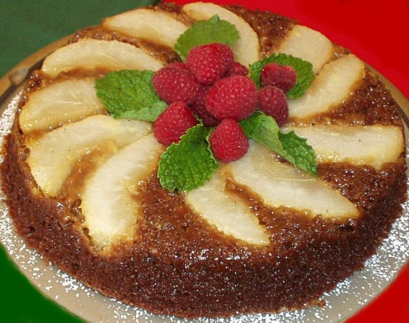 Upside down pear cake recipe nz