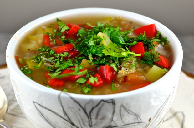 Ecuadorean Quinoa And Vegetable Soup Recipe - Food.com